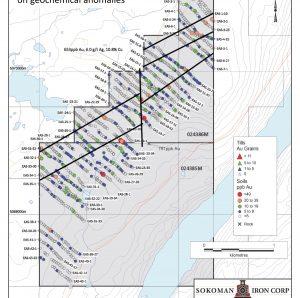 Gold Property Exploration NL Sokoman Minerals