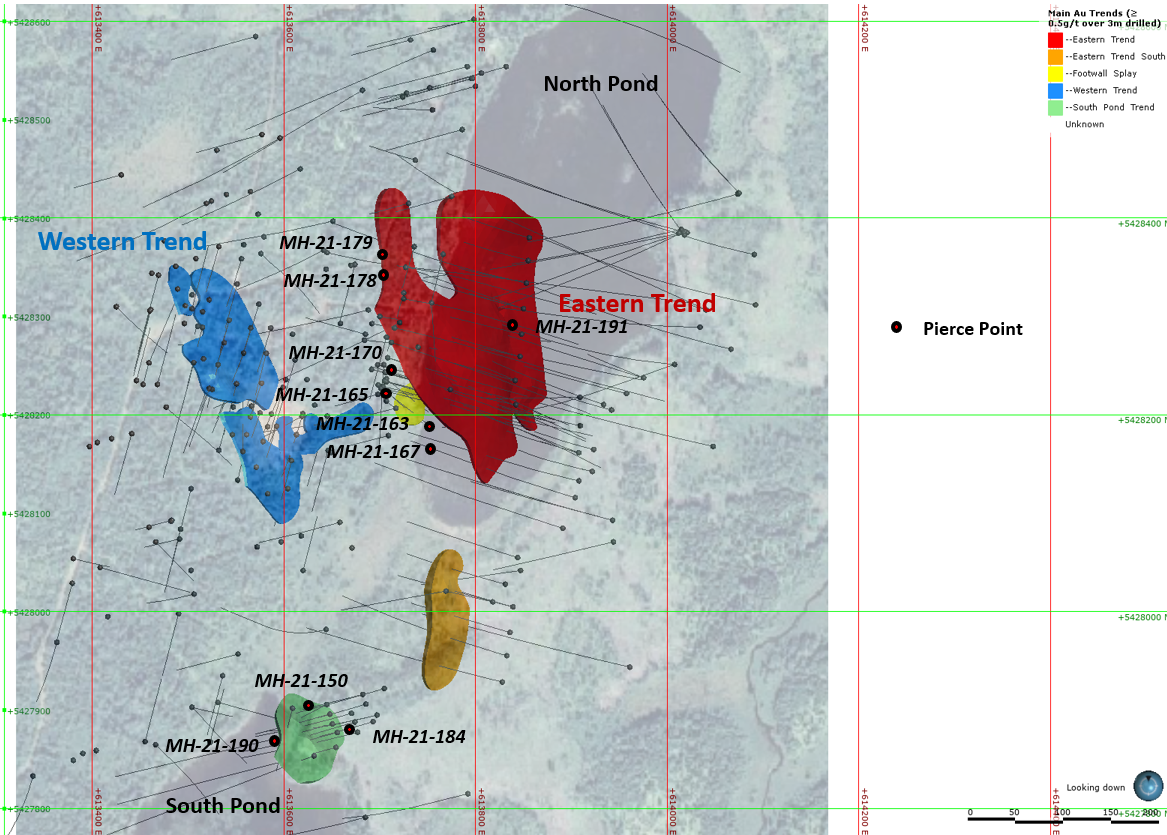 moosehead gold project phase 6 map